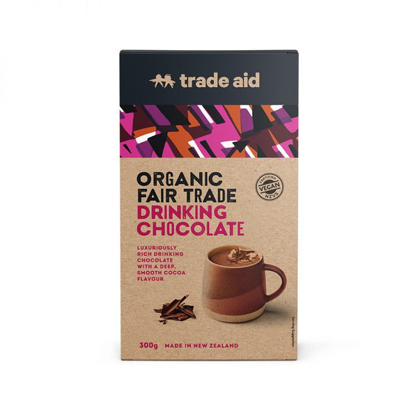 Trade Aid - Organic Drinking Chocolate 300g