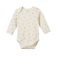 Nature Baby - L/S Bodysuit Dragonfly Print