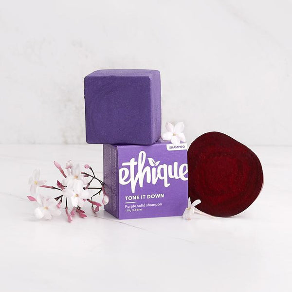 Ethique - Tone It Down Shampoo Bar (Purple Shampoo)