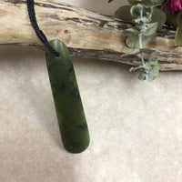 Greenstone Roimata Long Necklace