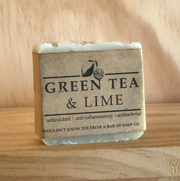 Wouldn't know em - Green Tea & Lime Soap