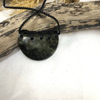Greenstone - Sheild Necklace