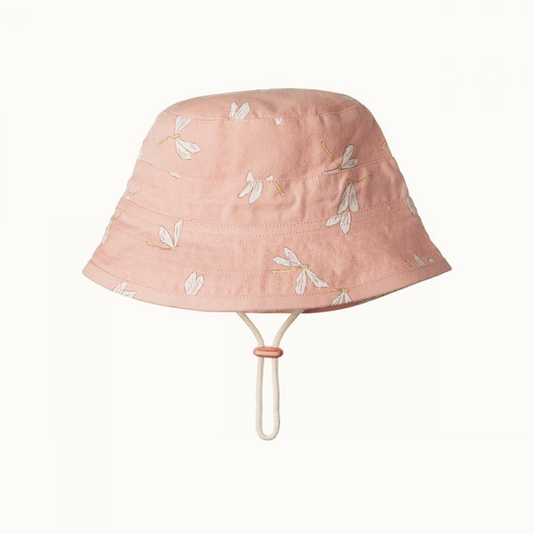 Nature Baby - Bucket Hat - Dragonfly Lily Print