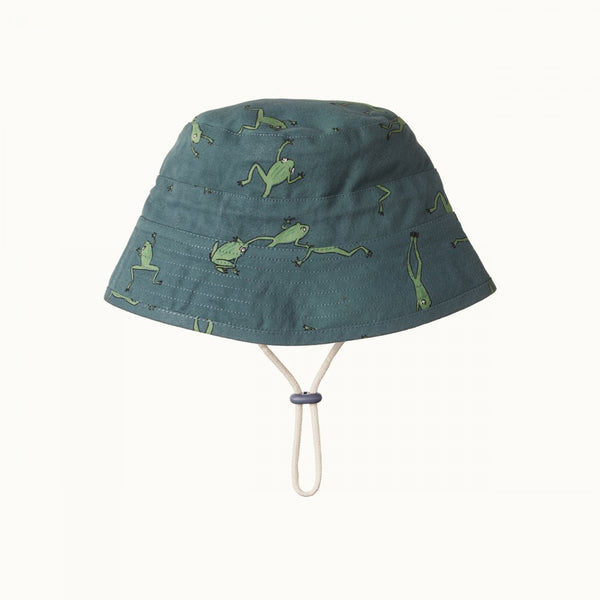 Nature Baby - Bucket Hat - Leapfrog Olive Print