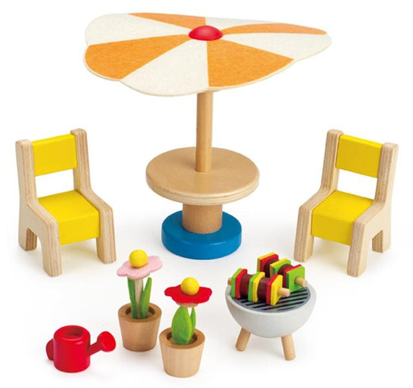 Dolls House Outdoor Furniture