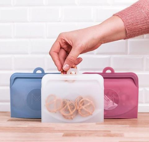 Montii - Silicone Pack & Snack Bags (Set of 2)