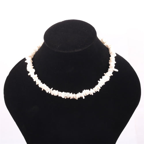 Puka Sea Shell Choker Necklace