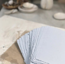 Load image into Gallery viewer, Blue mist handmade paper