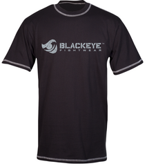 Block Series - Regular Fit - Black with Distressed Gray (Exposed Stitching)
