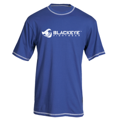 Block Series - Regular Fit - Royal Blue with White (Exposed Stitching)