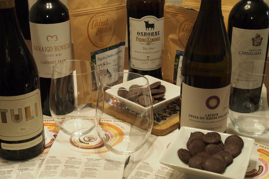 Five Unique Wines For A Perfect Chocolate Tasting Experience