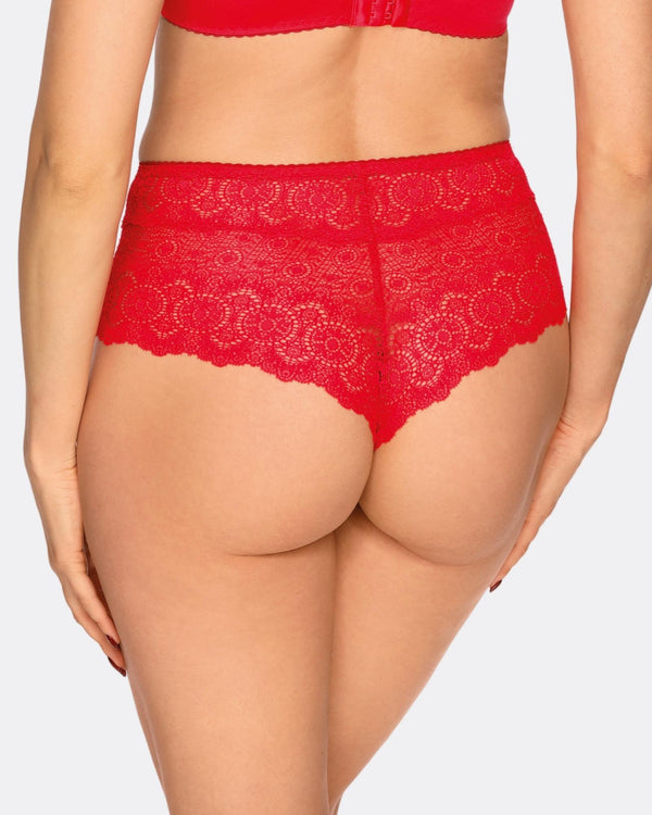 Cueca com renda Fantasy Red