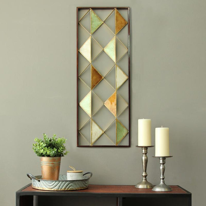 Colorful Diamond Wall Decor