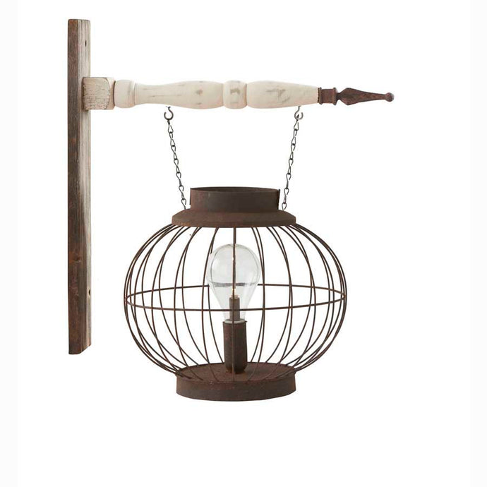 Globe Lantern with LED Light (Attaches to Arrows- Sold Separately)