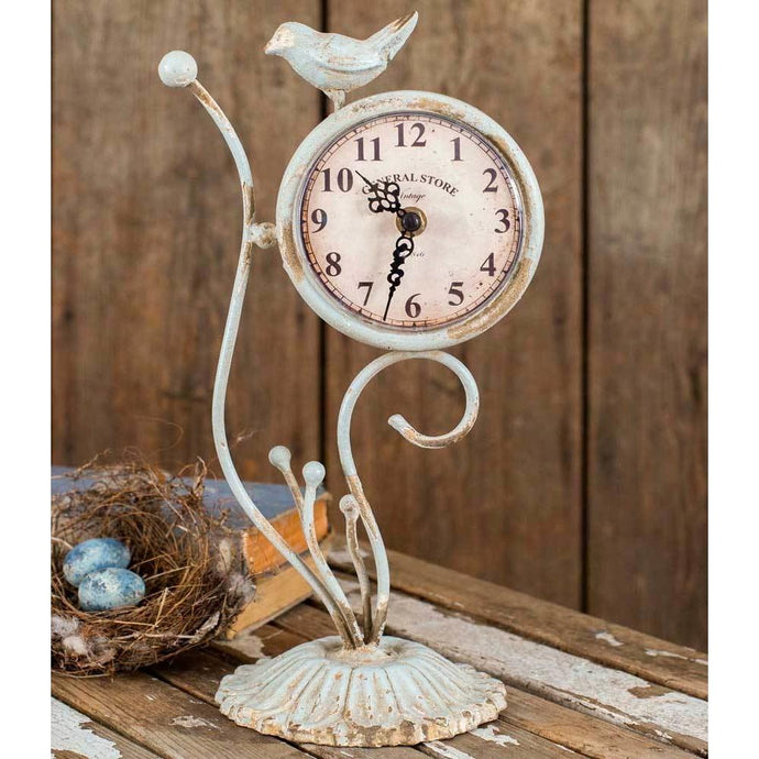 General Store Songbird Clock