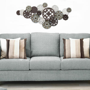 Medallion Cluster Wall Decor