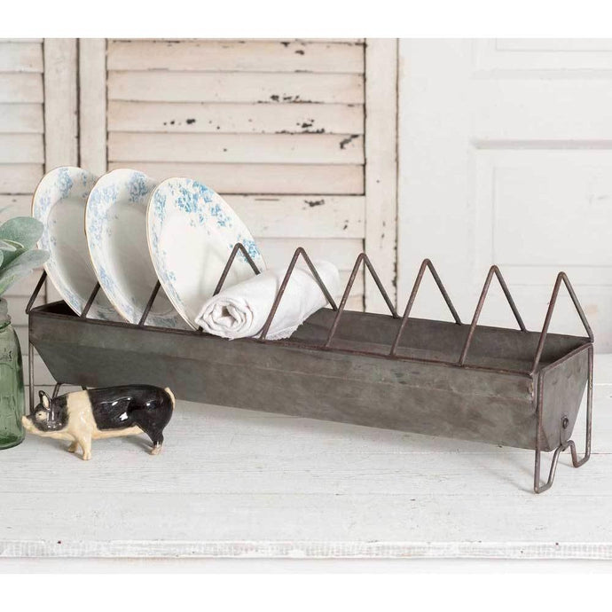 Galvanized Bin Plate Holder