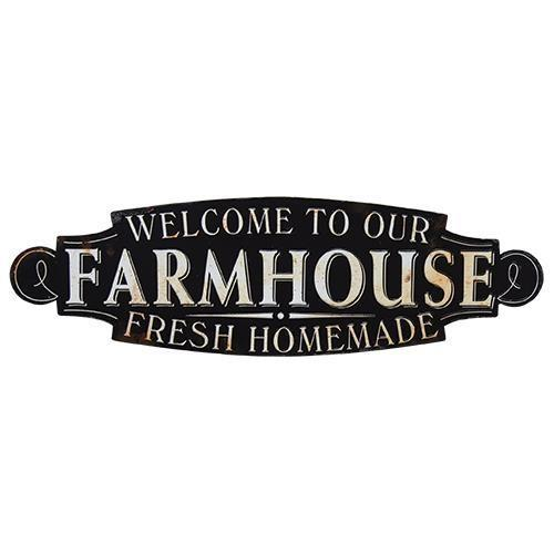 Welcome to our Farmhouse Fresh Homemade Sign