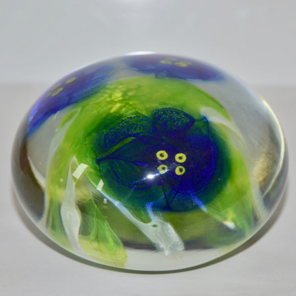 African Violet Paperweight