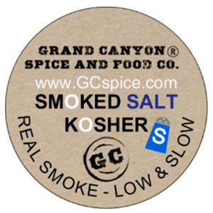Smoked Salt, Kosher