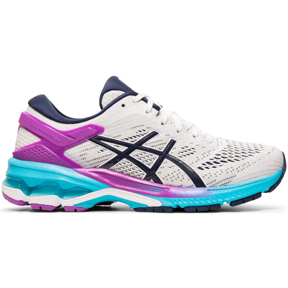 ASICS | WOMENS GEL-KAYANO 26 WHITE