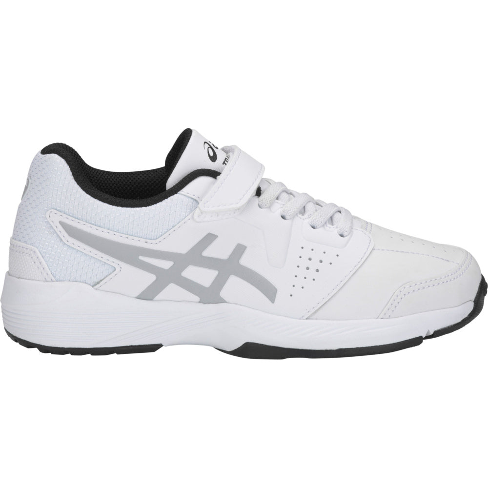 ASICS | KIDS GEL-QUEST PS (WHITE/MID GREY)