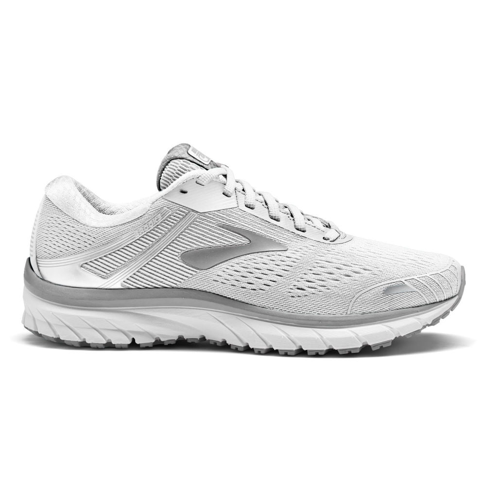 BROOKS | WOMENS BROOKS ADRENALINE GTS 18 WHITE