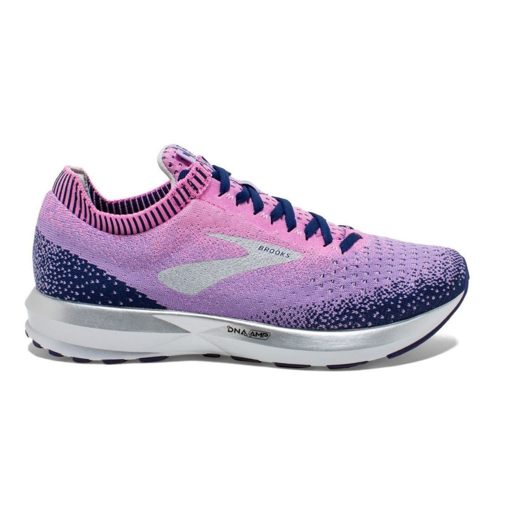 BROOKS | WOMENS LEVITATE 2 (PURPLE/PINK/NAVY)