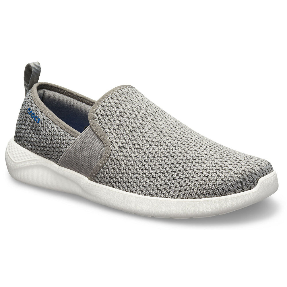 CROCS | MENS LITERIDE MESH SLIP ON GREY