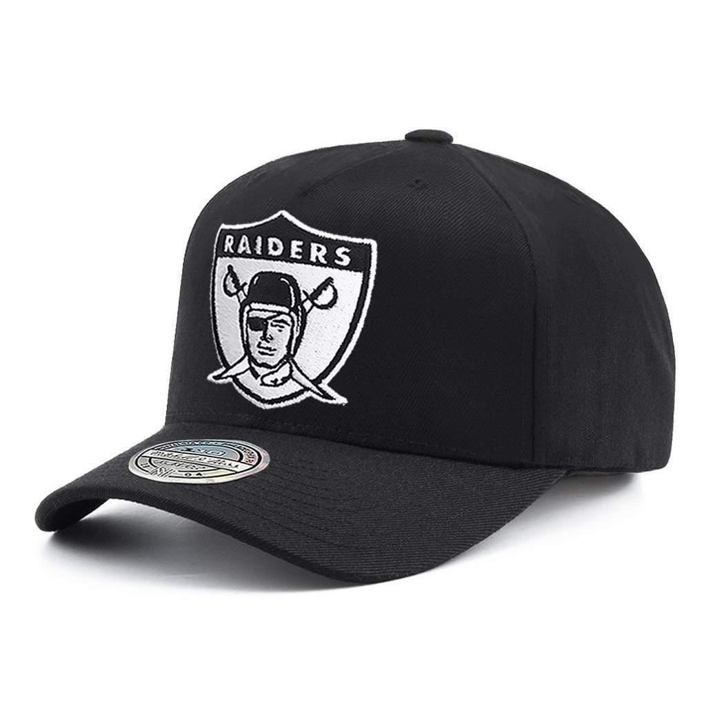 MITCHELL & NESS | MENS OAKLAND RAIDERS 110 SNAPBACK BLK/WHT