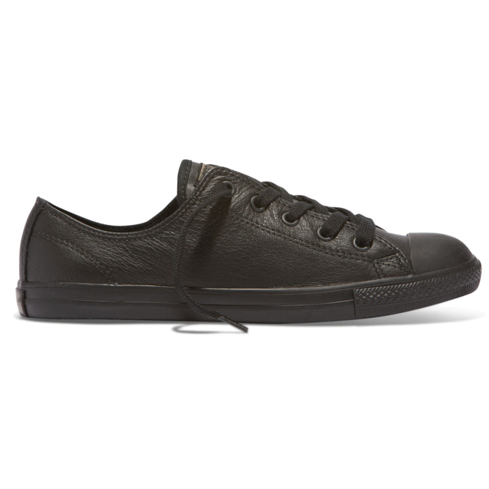 CONVERSE | WOMENS CT ALL STAR DAINTY LEATHER OX (BLACK MONO)