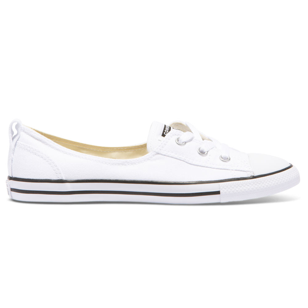 CONVERSE | WOMENS CT BALLET LACE SLIP CANVAS (WHITE)