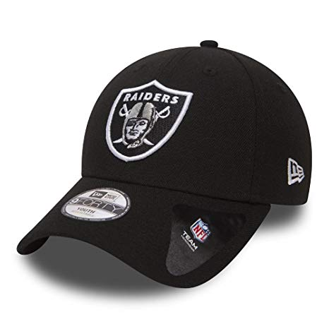 NEW ERA | MENS OAKLAND RAIDERS ADJUSTABLE 9FORTY (BLACK)