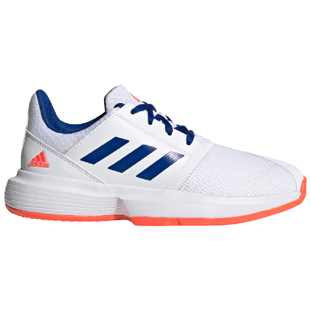ADIDAS | KIDS COURTJAM XJ WHITE/BLUE/RED
