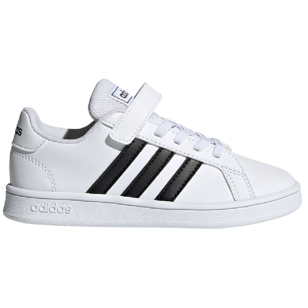 ADIDAS | KIDS GRAND COURT C WHITE/BLACK