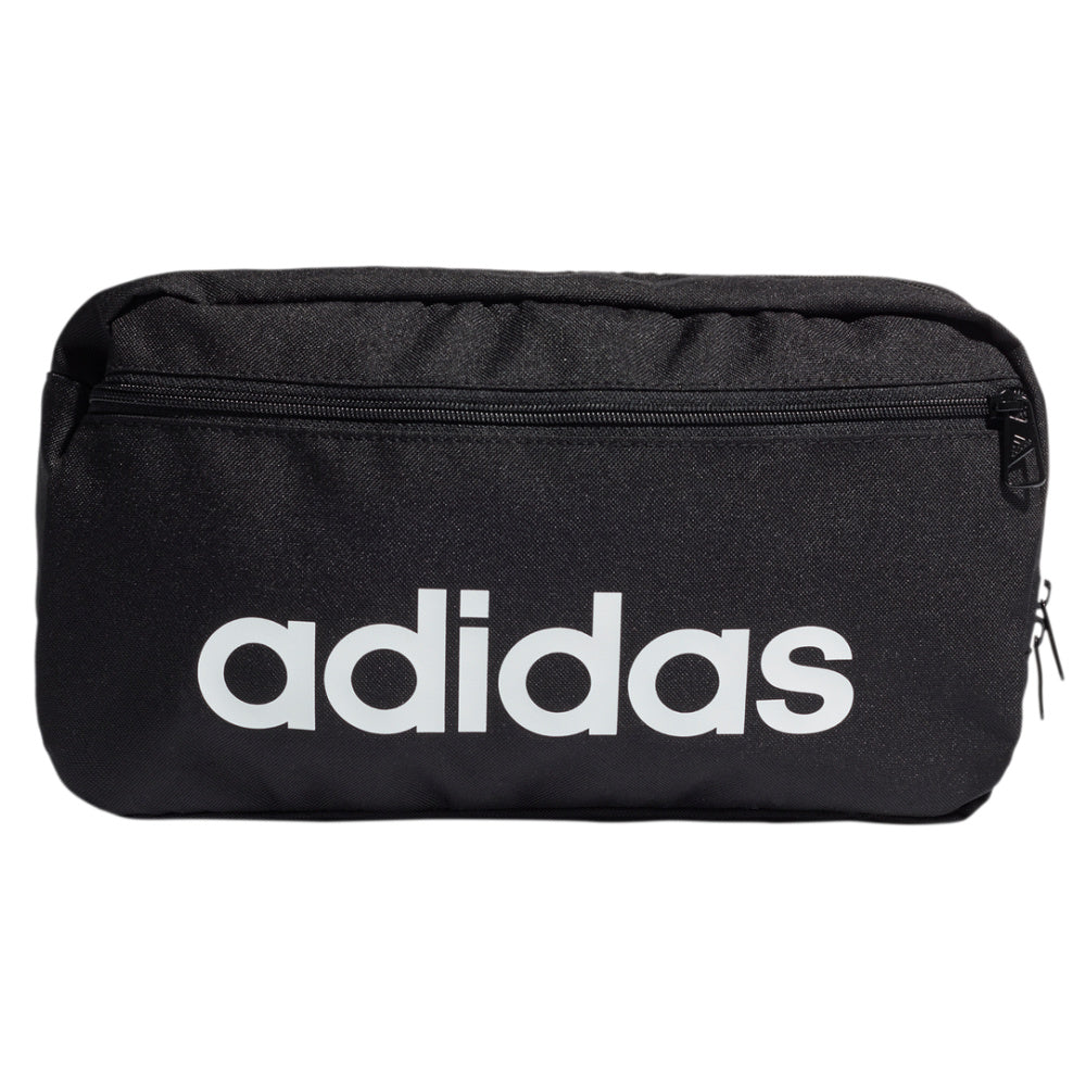 ADIDAS | ESSENTIALS LOGO SHOULDER BAG (BLACK/WHITE)