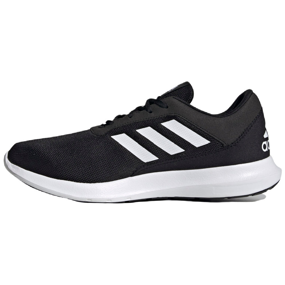 ADIDAS | MENS CORERACER BLACK/WHITE