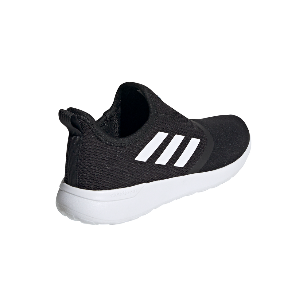 ADIDAS | MENS LITE RACER SLIP ON (BLACK/WHITE)