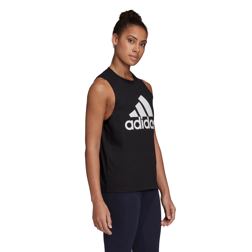 ADIDAS | WOMENS BADGE OF SPORT COTTON TANK BLACK