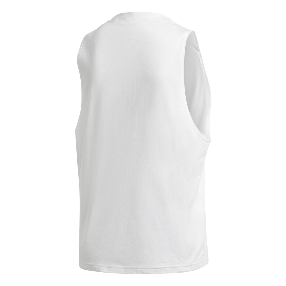 ADIDAS | WOMENS BADGE OF SPORT COTTON TANK WHITE