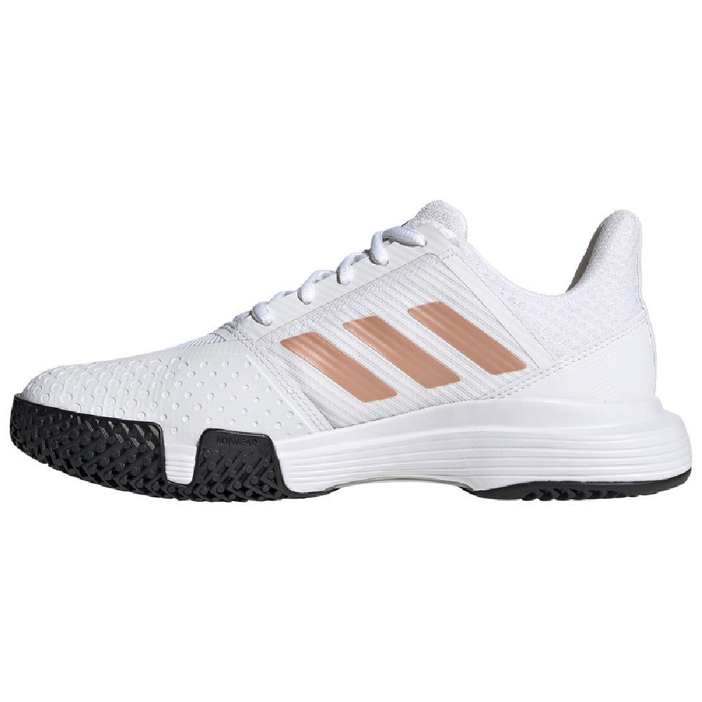 ADIDAS | WOMENS COURTJAM BOUNCE WHITE/COPPER
