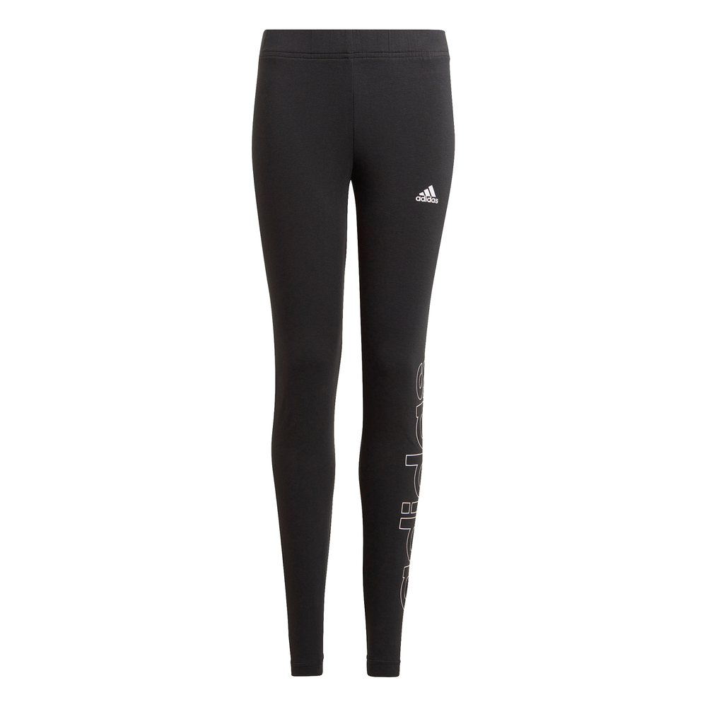 ADIDAS | YOUTH GIRLS ESSENTIALS TIGHTS (BLACK/WHITE)