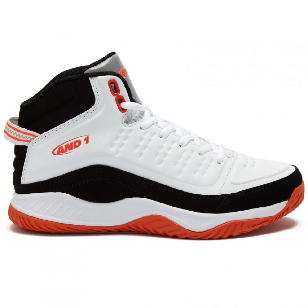 AND1 | KIDS PULSE 2.0 JUNIOR WHITE/BLACK/RED