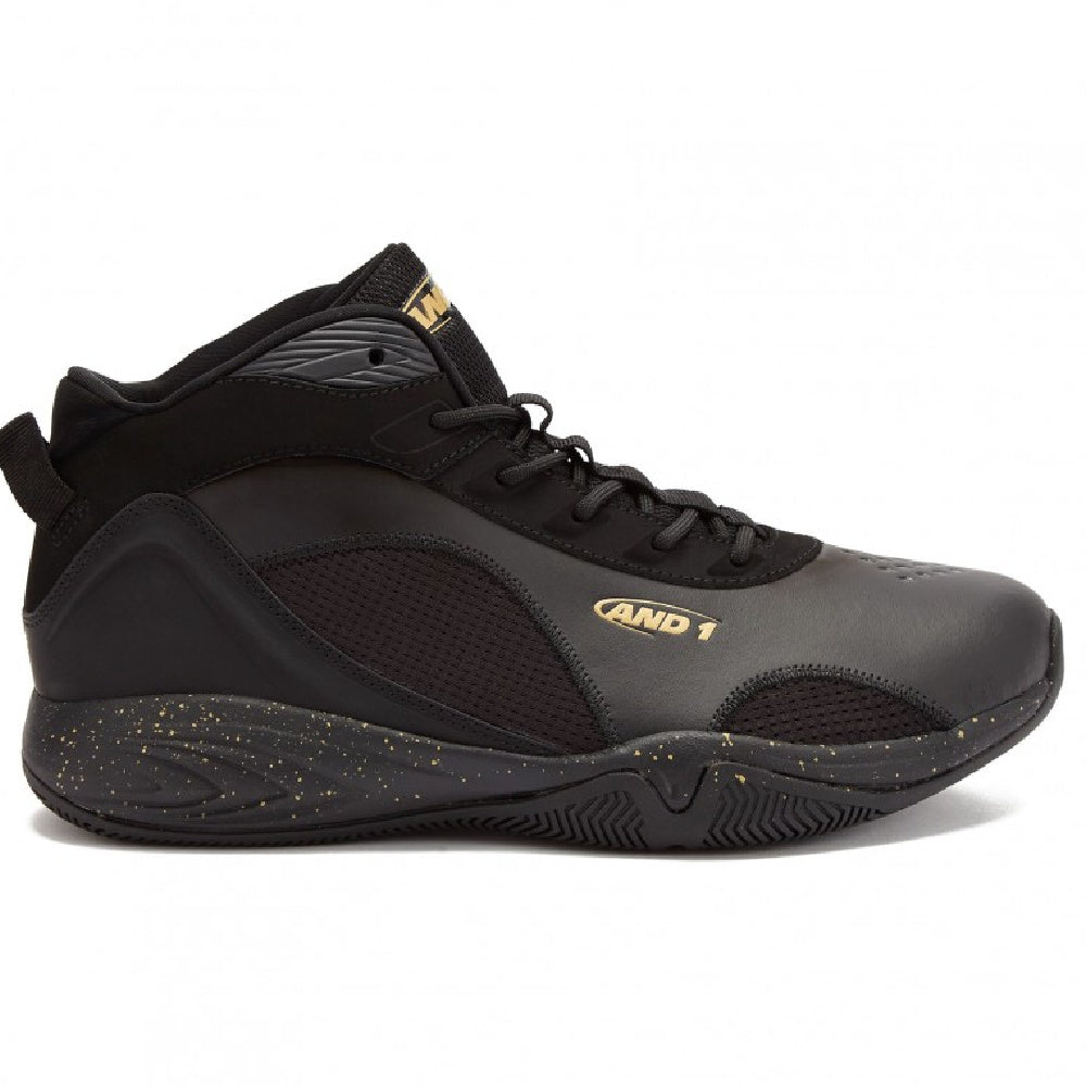 AND1 | MENS CYCLONE 2.0 MID BLACK/PALE GOLD