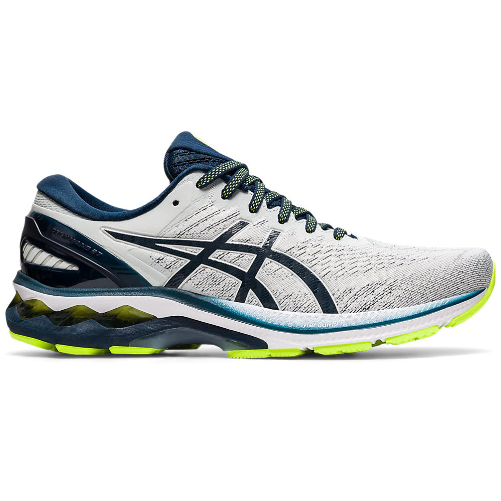 ASICS | MENS GEL-KAYANO 27 (GLACIER GREY/FRENCH BLUE)