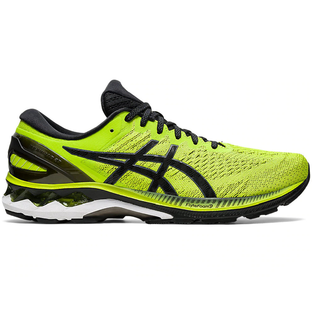 ASICS | MENS GEL-KAYANO 27 LIME ZEST/BLACK