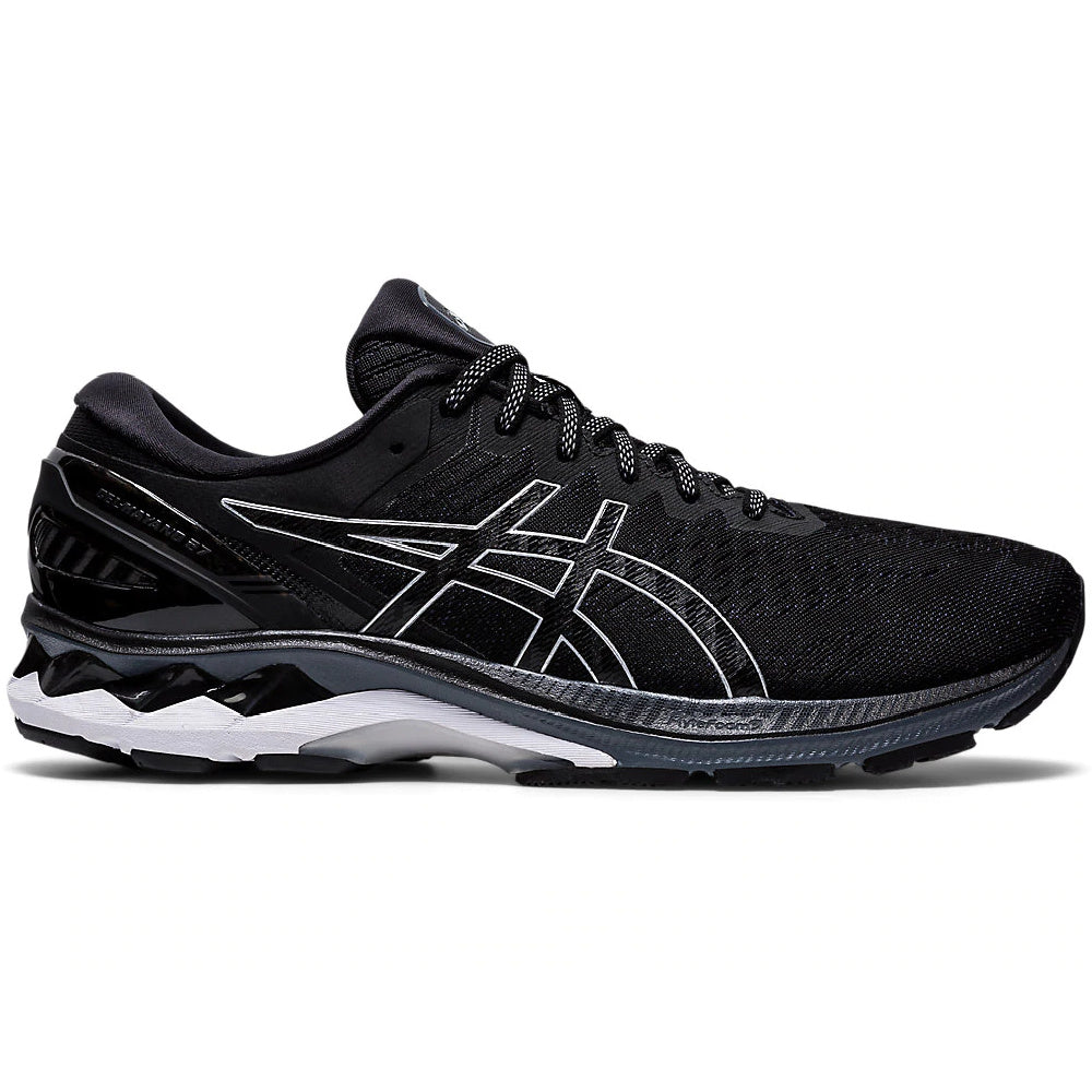 ASICS | MENS GEL-KAYANO 27 2E BLACK/PURE SILVER