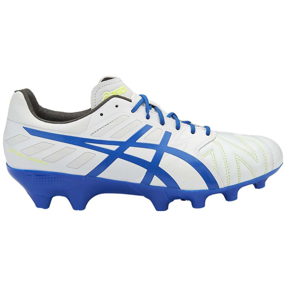 ASICS | MENS LETHAL LEGACY IT WHITE/BLUE/YELLOW
