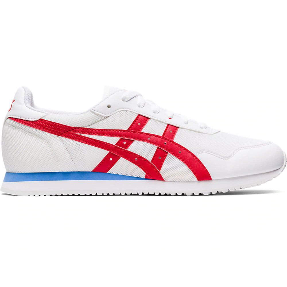 ASICS | MENS TIGER RUNNER WHITE/RED/BLUE