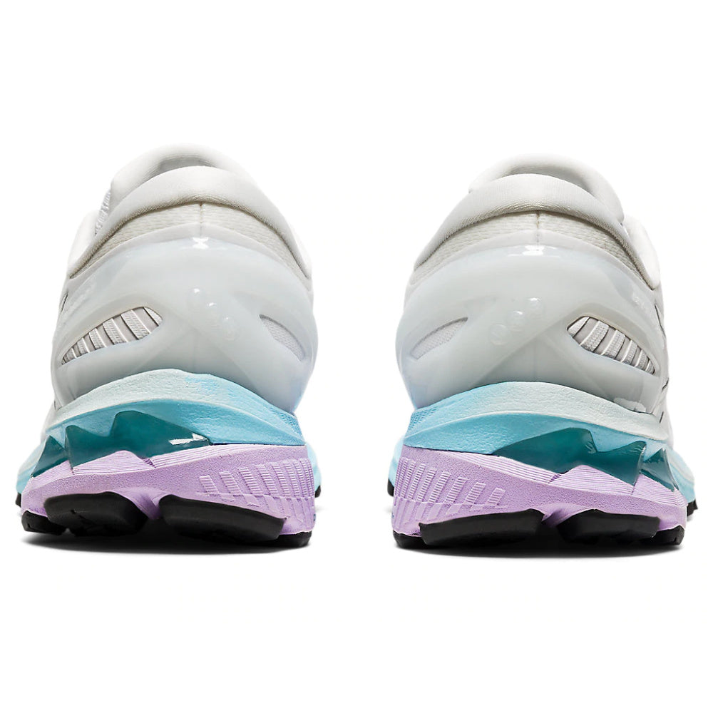 ASICS | WOMENS GEL-KAYANO 27 WHITE/PURE SILVER